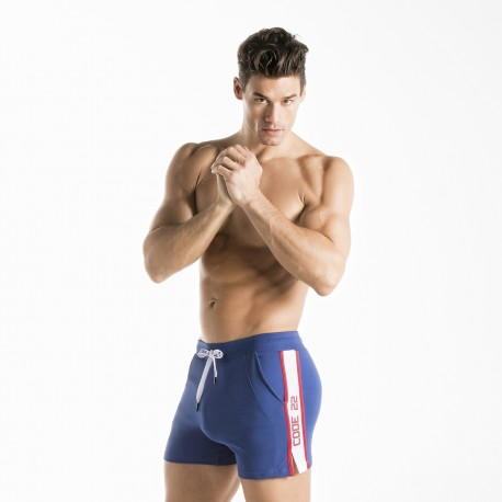 Men's Short Shorts: Athleisure- and Swim-Based Options Available