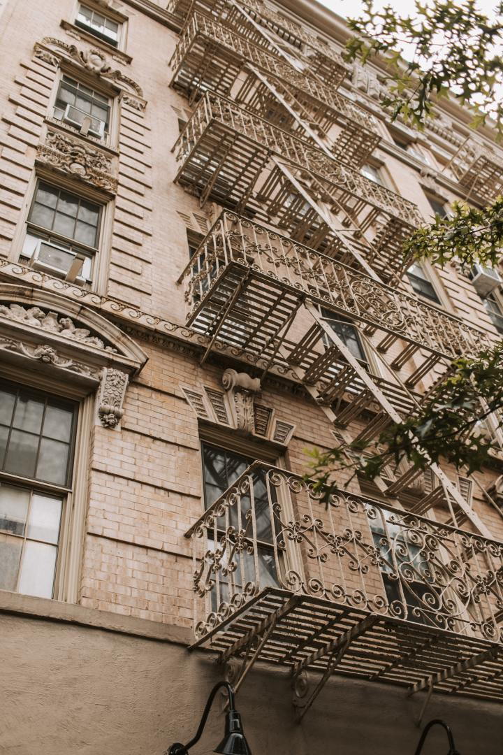 New York City: Falls from the FireEscape
